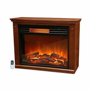 LifeSmart Lifepro Large Room Infrared Heater Fireplace At $ 129 93