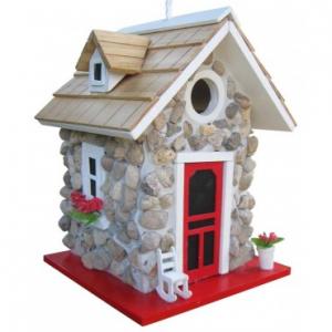 Home Bazaar Fieldstone Guest Cottage Birdhouse At $33.99