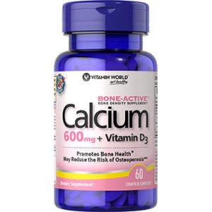 Calcium 600 mg + Vitamin D3 At $4.78