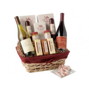 Hickory Farms Winter Wonderland Gift Basket At $89.99