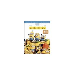 Minions (3D) (Blu-ray/DVD) (Digital Copy) At $27.99