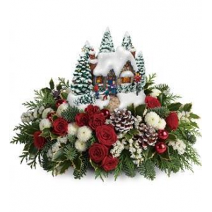 Thomas Kinkade's Country Christmas Homecoming - Deluxe At $88.16