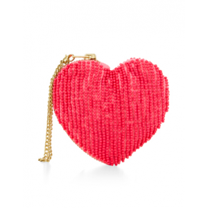 Get Beaded Heart Purse At $8