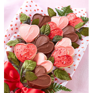 Get Long Stemmed Buttercream Frosted Cookie Flowers At $39.99