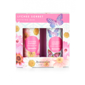 Get LYCHEE SORBET BATHING DUO At $10.00