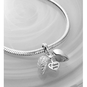 Get Chamilia Bracelet with Secret Message Charm At $114.99