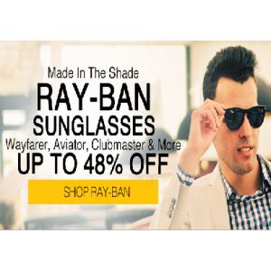 Upto 48% Off RAY-BAN SUNGLASSES