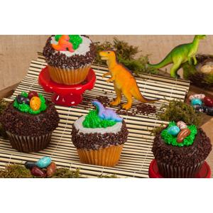 Get CRUMBS Signature Jurassic Cupcakes - 4-Pack At $39.95