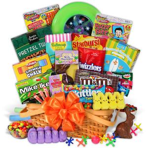 Abundant Easter Candy & Toys Basket