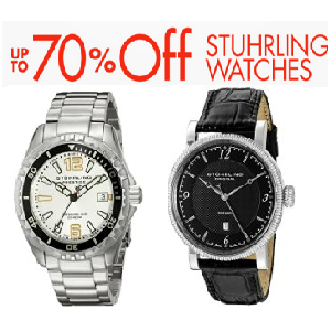 Get Upto 70% Off on Stuhrling Watches