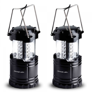 Get 2 Pack LED Lantern Flashlights At $15.99
