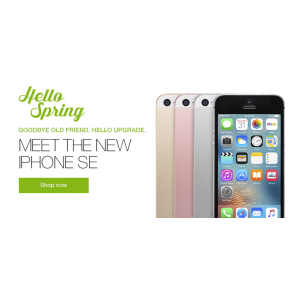 Hello Spring :  Upto 80% Off on Apple iPhone