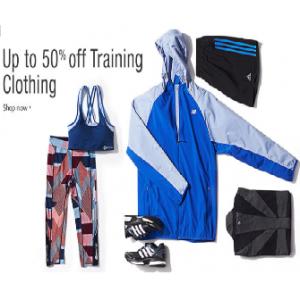Upto 50% Off on Training Clothing