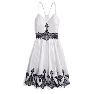 Get Jonathan Simkhai Women's Embroidered Poplin Dress At $525