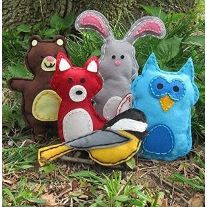 Buy Woodland Animals Craft Kids Sewing Kit At $31.16