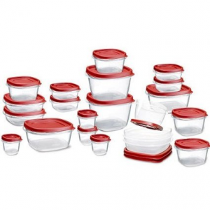 Get Rubbermaid Easy Find Lid Food Storage Container, 42-Piece set At $15.99