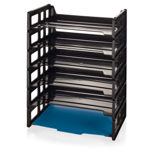 Get Officemate Side Load Letter Tray, 6 Pack At $21.32