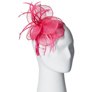 Scala Women's Sinamay and Flower Fascinator Headband At $43.00