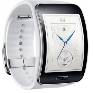 Samsung Galaxy Gear Smart Watch White Curved AMOLED At $219.99