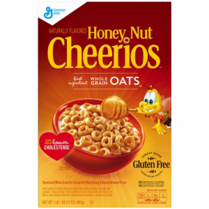 Get Honey Nut Cheerios Cereal, 17 Oz At $2.98