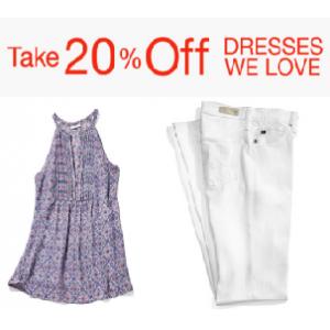 Take 20% Off on Women's Dresses