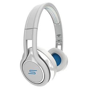 Get SMS Audio Street by 50 Cent Wired On-Ear Headphones - White At $39.99