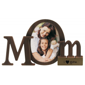 Get Malden Bronze Script Mom Picture Frame with One Opening At $12.09