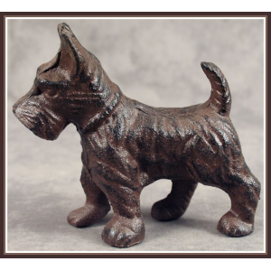 Buy SCOTTISH TERRIER SCOTTIE DOG Heavy Cast Iron Just At $12.99