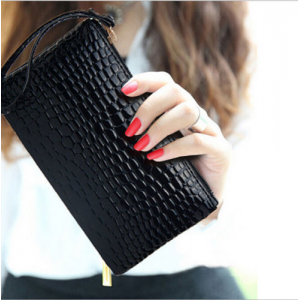 Mother's Day Special : Grab Women Clutch Purse Bag Leather NEW Satchel Fashion Handbag Pattern At $2.09
