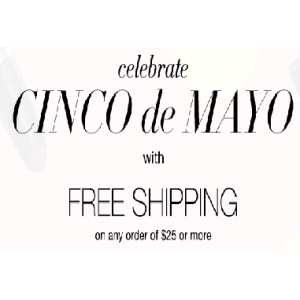 Cinco De Mayo Special : Free Shipping on Oder Of $25 & Above