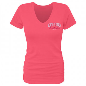 Women's Red Kentucky Derby 142 Verdana T-Shirt At $29.99