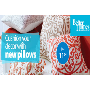Grab Cushion & Pillows For your Home Starts At $11.64