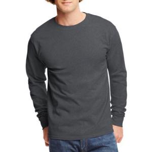 Buy Hanes Men's Tagless Long Sleeve T-shirt At $5.68