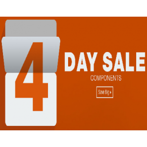 Get 4 Day Sale on All Components