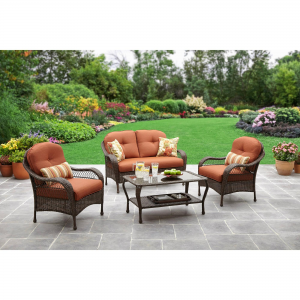 Better Homes and Gardens Azalea Ridge 4-Piece Patio Conversation Set Seats 4 $ 456.00