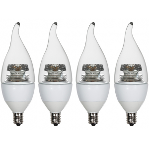 Flat 68% OFF on Thinklux 4-PK-TKUCA35S01-4.5W-830-E12 40 Watts Equivalent LED Light Bulb