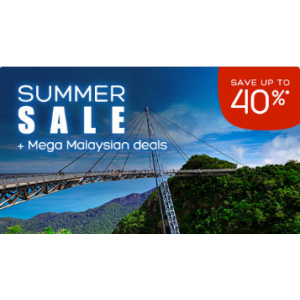 Summer Sale : Save Upto 40% Off on Mega Malaysian Hotels