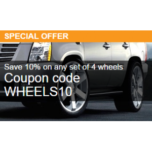 Special Offer : Save 10% on Any Set Of 4 Wheels