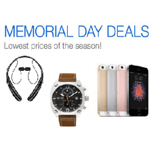 Memorial Day Deal : Get Great Discounts On Headset, Mobile, Watches & Many More