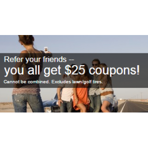 Just Refer Your Friends & Get $25 Coupons Free