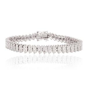 Grab Diamond Accent Tennis Bracelet At $10