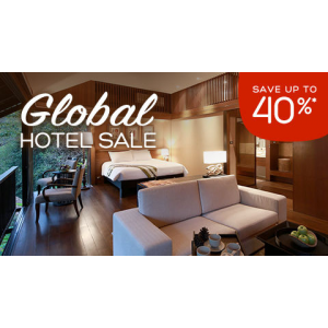 Save up to 40% + an extra $45 when you spend $300 or more