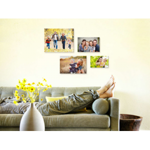 Personalized Photo-to-Canvas Print - 4 Sizes