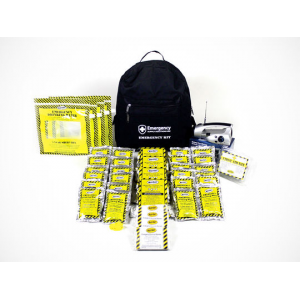 72-Hour Emergency Backpack Kit for 2 or 4 People