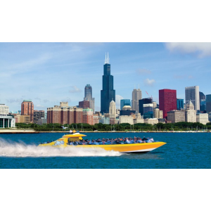Lakefront Speedboat Tour Thrill Ride or Architectural Tour from Seadog Cruises (Up to 31% Off)