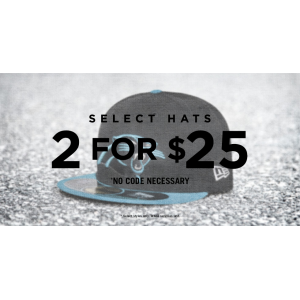 Select Hats 2 For Rs $25