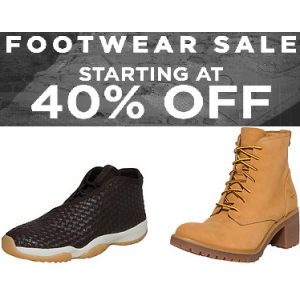 Footwear Sale : Upto 40% Off + Starting At $37.50