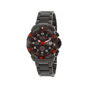 Precimax Men's Defender Pro PX14023 Black Stainless-Steel Quartz Watch At $ 69.99