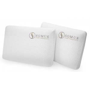 Two-Pack of Somus Memory Foam Supreme Pillows At $ 44