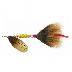 Buy  Mepps Aglia Size5 Dressed Spinner Bait 1/2 oz Brown Trout Brown At $52.99